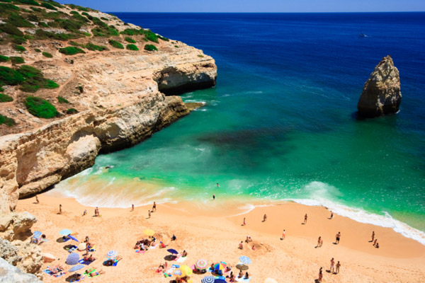 Beach at Algarve