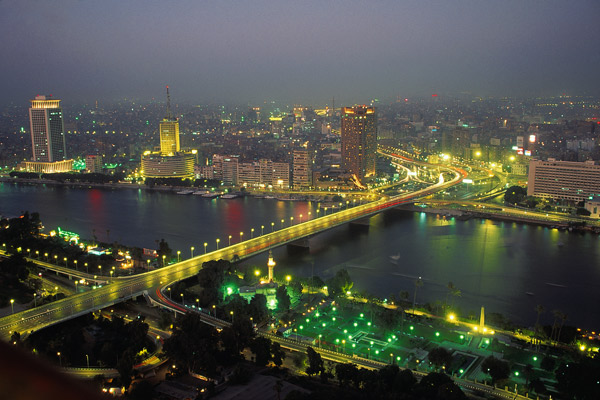 Cairo from Grand Nile Hotel