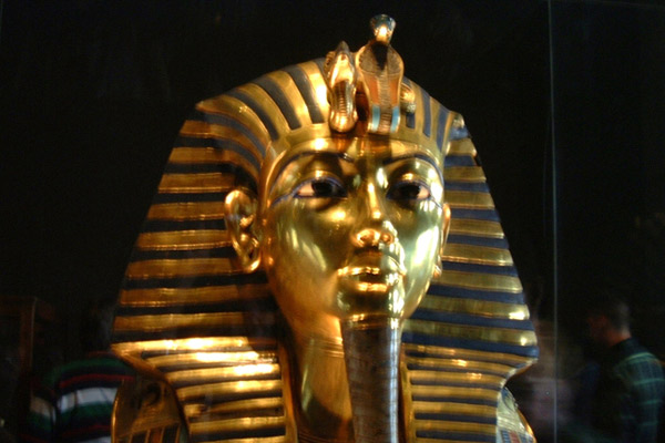 Tutankhamun Mask in Egyptian Museum