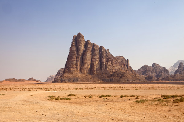 the site for the film Lawrence of Arabia