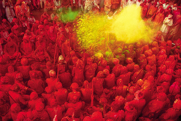 the Festival of Colour