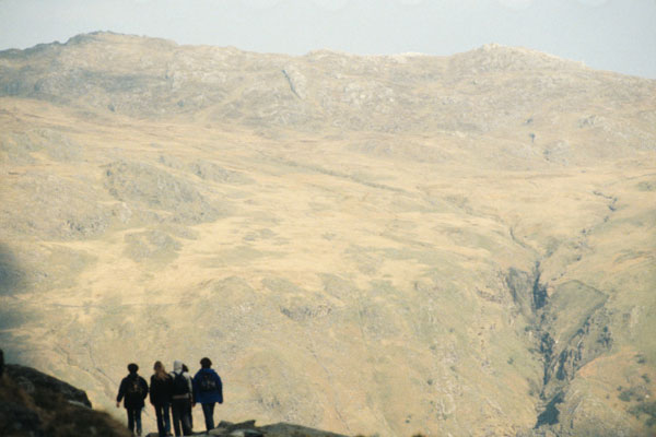 Hikers in Snowdonia National Park