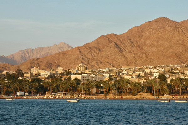 Aqaba from the sea