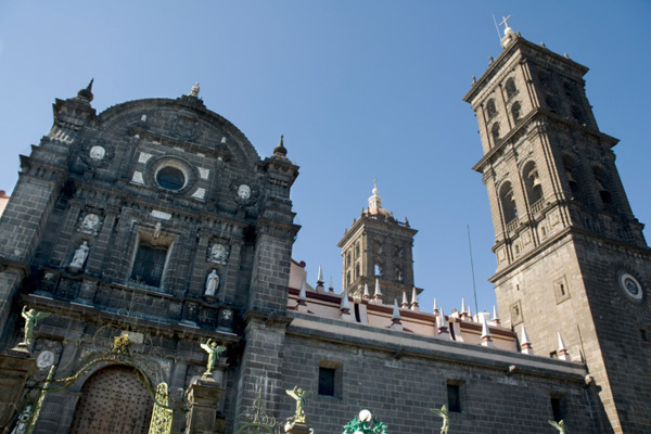 Zocalo: the Cathedral