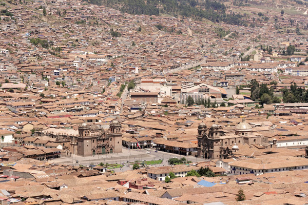 Roof tops of Cuzco