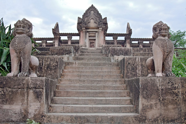 Steps leading up to temple