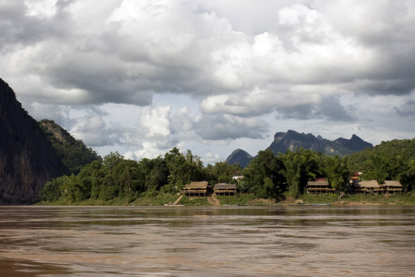Mekong River and village