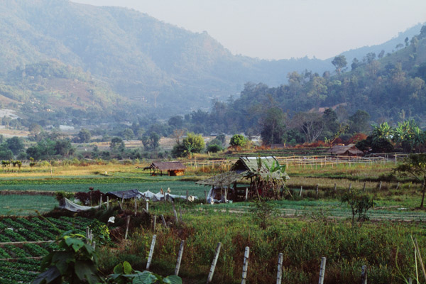 Outskirts of Chiang Mai city