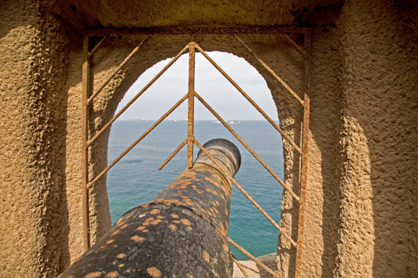 Canon at Muscat Fort