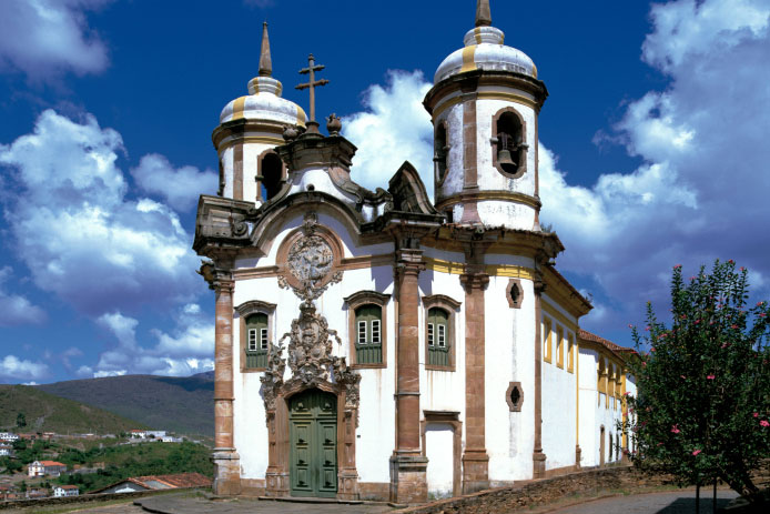 Church in Ouro Preto